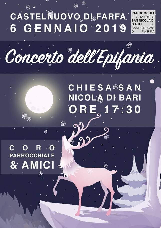 Torna a Castelnuovo di Farfa l'imperdibile Concerto dell'Epifania
