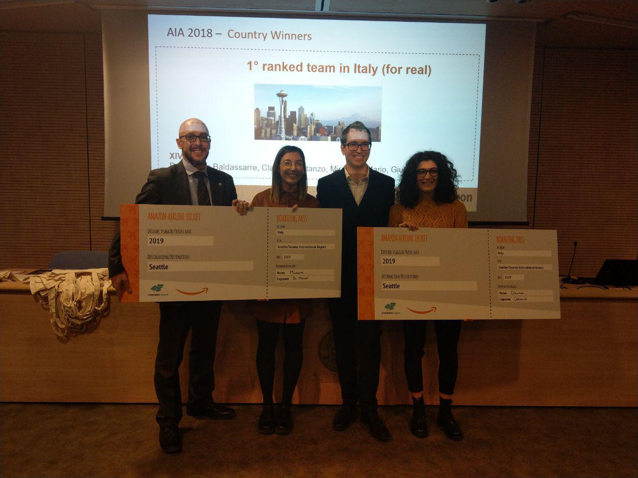 Nuove tecnologie all'interno dei centri Amazon italiani: i vincitori del concorso