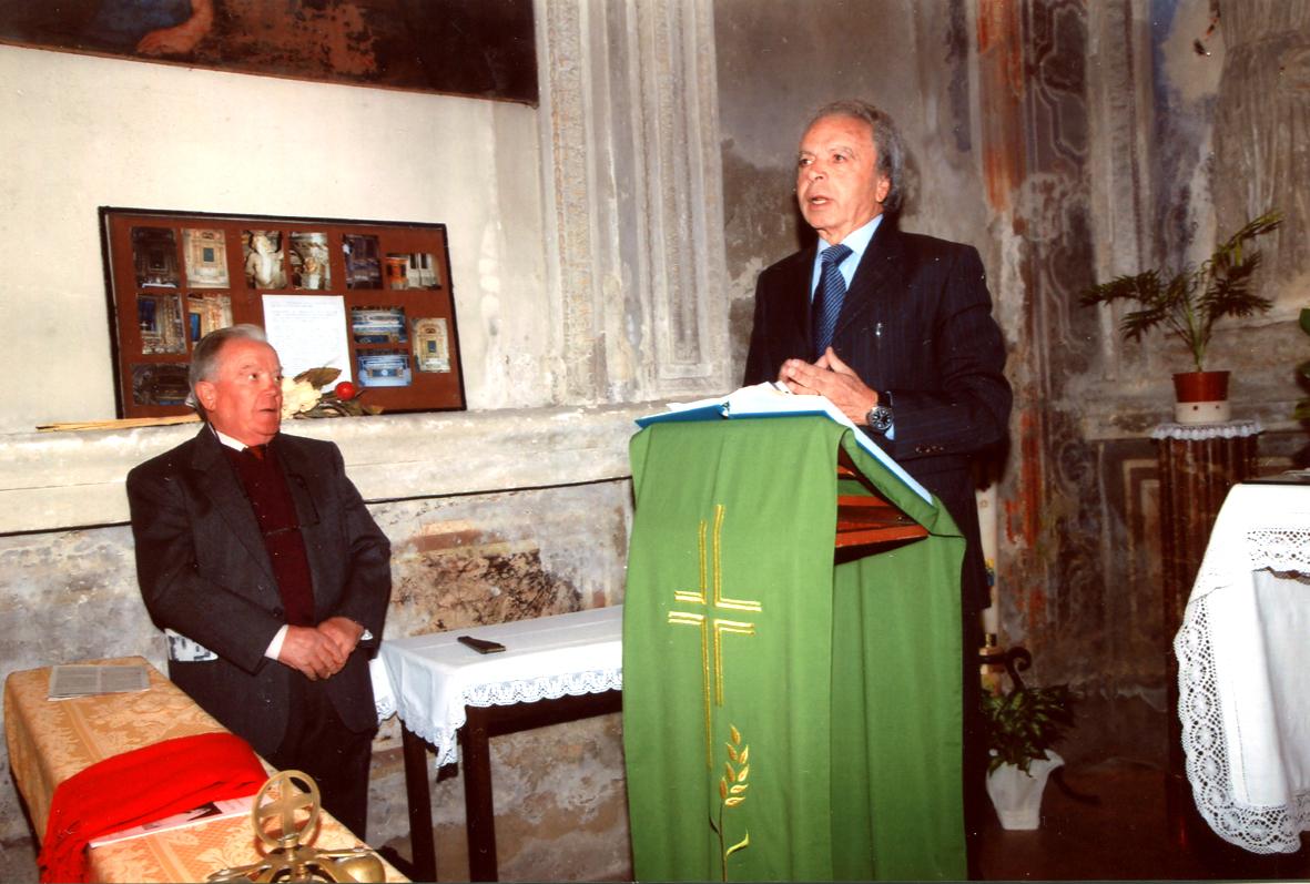 Il giornalista Antonio Cipolloni ricorda Ottorino Pasquetti