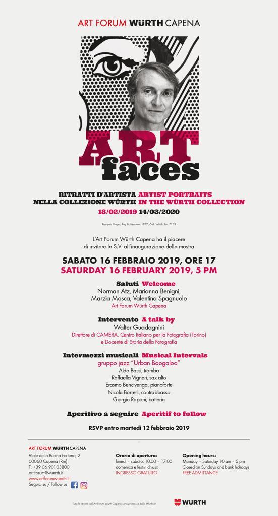 Art Forum Whurt di Capena presenta ART FACES