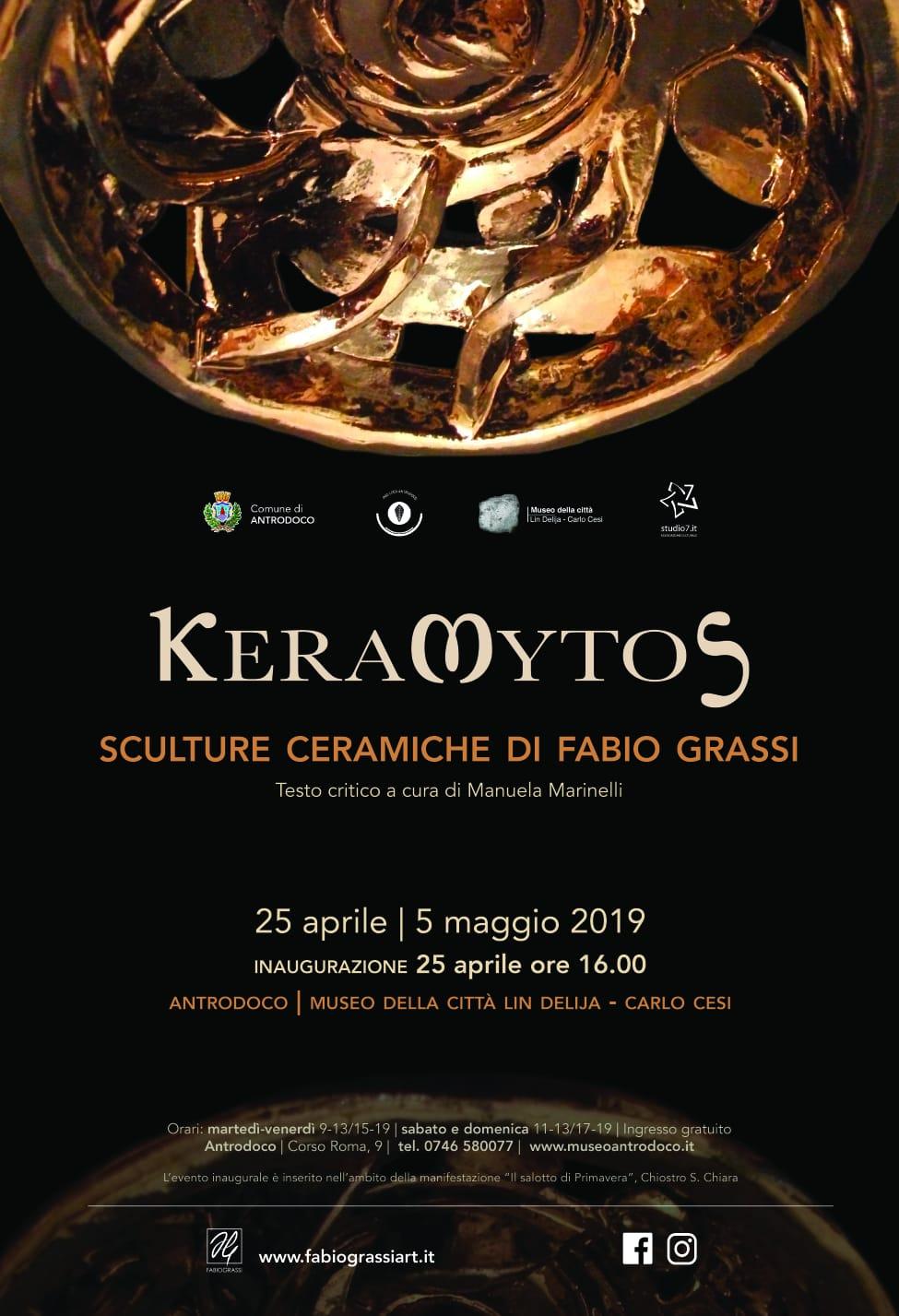 Al Museo della Città di Antrodoco apre la mostra di Fabio Grassi