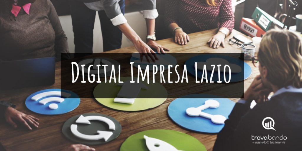 """""""Digital Impresa Lazio"""": nuovo bando per le imprese"""