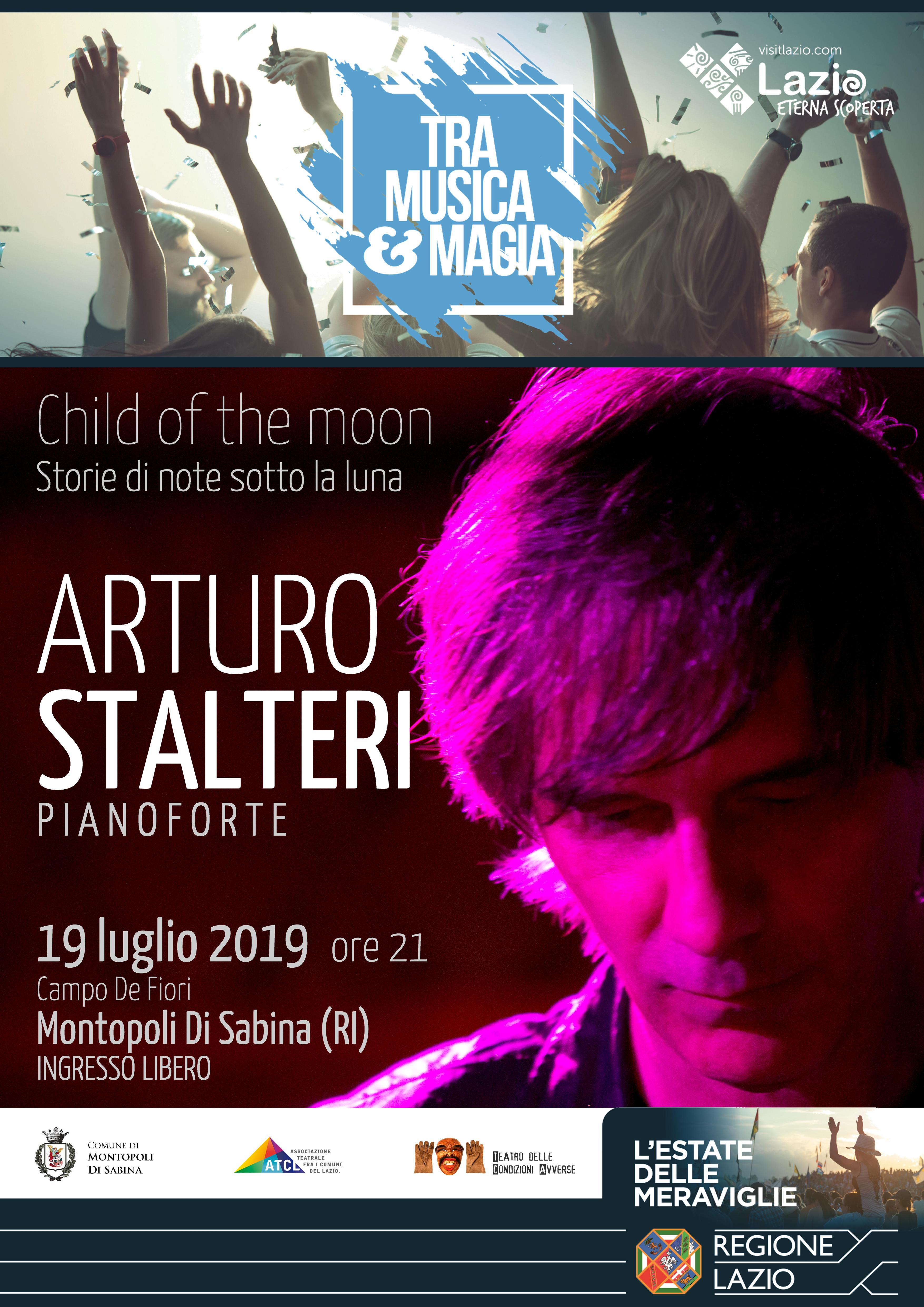 19 luglio Montopoli in Sabina: Arturo Stàlteri in concerto